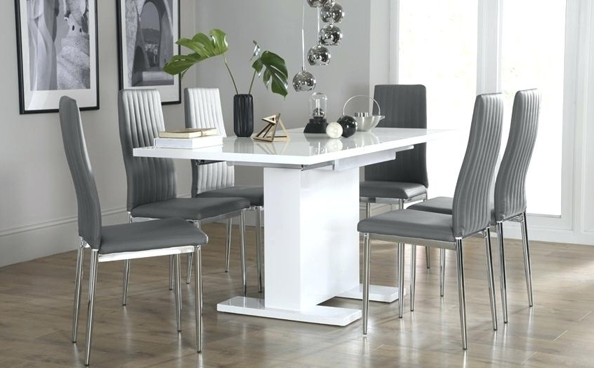 Most Up To Date Dining Tables Grey Chairs For Extending Dining Tables And Chairs Extending Dining Tables And (View 15 of 20)
