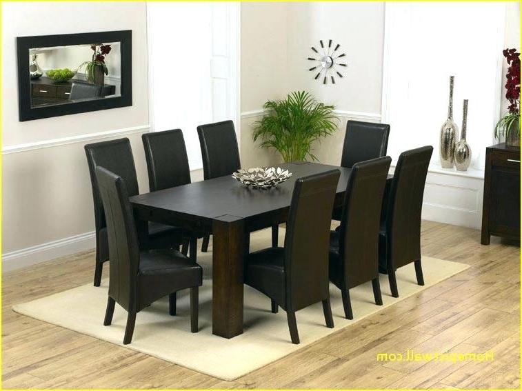 Most Up To Date Dining Tables Seats 8 With Regard To Square Dining Tables Seats 8 – Cociug (View 11 of 20)