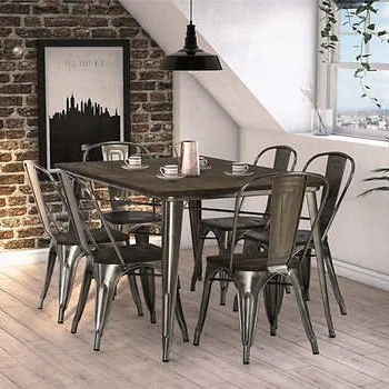 Most Up To Date Fusion 7 Piece Dining Set (View 13 of 20)