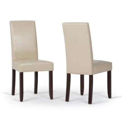 Most Up To Date Glam – Faux Leather – Dining Chair – Dining Chairs – Kitchen With Regard To Cream Faux Leather Dining Chairs (View 15 of 20)