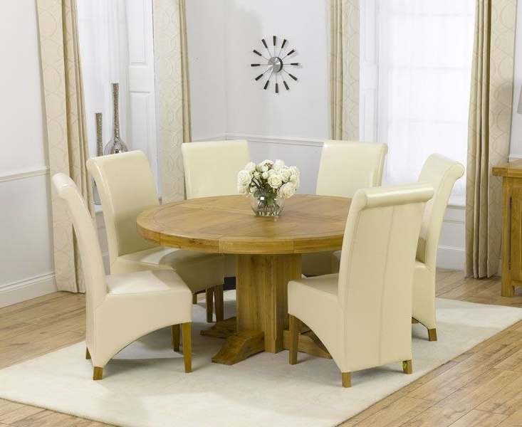 Most Up To Date Glass And Oak Dining Tables And Chairs Inside Dining Room Glass Top Table Set 6 Chairs Tables (View 18 of 20)