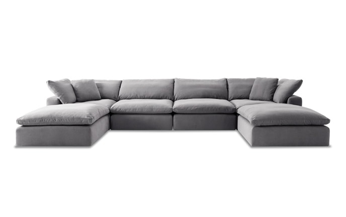 Most Up To Date Kristen Silver Grey 6 Piece Power Reclining Sectionals With Regard To Sofas & Sectionals (View 8 of 15)