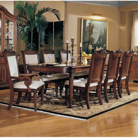 Most Up To Date Norwood 7 Piece Rectangular Extension Dining Sets With Bench & Uph Side Chairs Intended For Broyhill Dining Room Furniture (View 6 of 20)