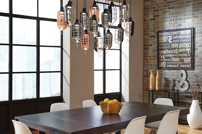 Most Up To Date Over Dining Tables Lights In How To Light A Dining Room – Lightology (View 11 of 20)