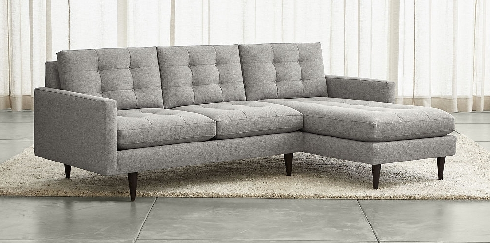 Most Up To Date Petrie Sectional Sofa From Crate Barrel (View 6 of 15)