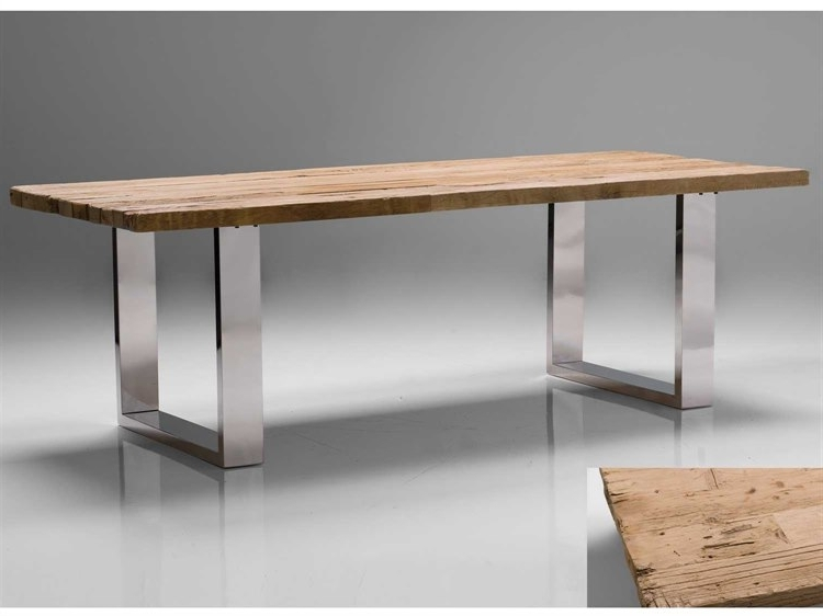 Most Up To Date Provence Dining Tables Within Mobital Provence 94 X 39 Rectangular Reclaimed Solid Wood Top Dining (View 11 of 20)