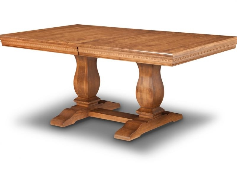 Most Up To Date Provence Double Pedestal Dining Table (View 9 of 20)