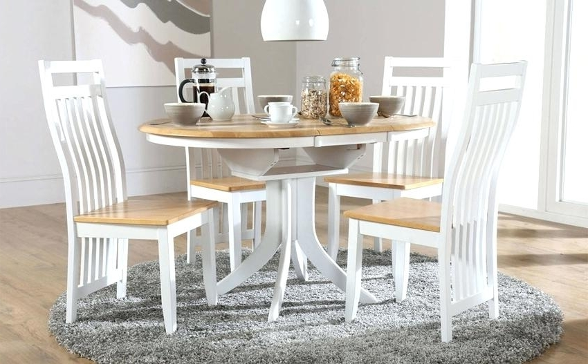 Most Up To Date Small White Extending Dining Table White Small White Gloss Extending Pertaining To Small White Extending Dining Tables (View 8 of 20)