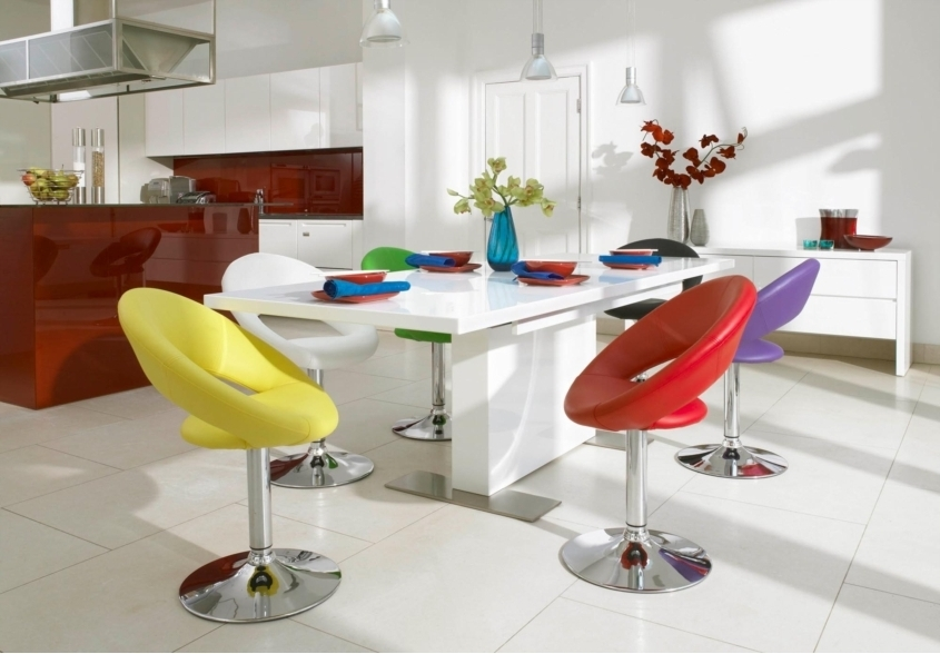 Most Up To Date Smartie Dining Tables And Chairs In Fun Dining With Rainbow Chairs (View 10 of 20)