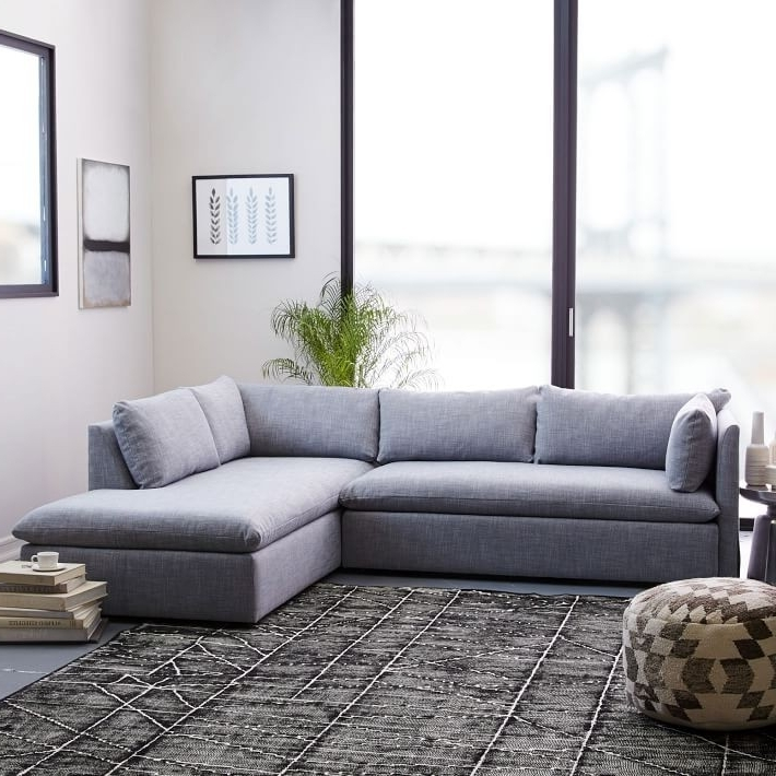 Most Up To Date Tenny Dark Grey 2 Piece Right Facing Chaise Sectionals With 2 Headrest For Sectional With 2 Chaises – Implantologiabogota (View 11 of 15)