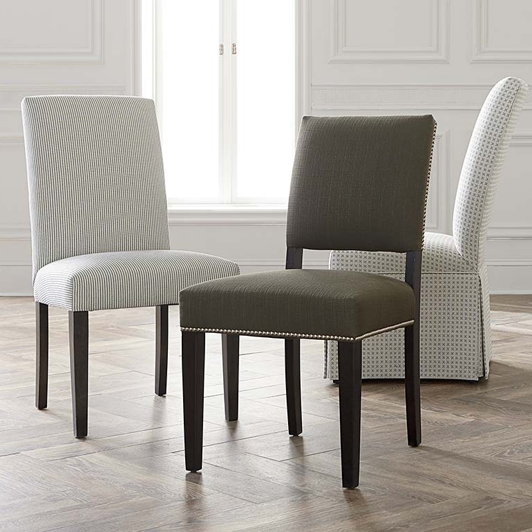 Most Up To Date Upholstered Dining Room Chairs (View 2 of 20)