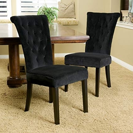 Most Up To Date Velvet Dining Chairs Pertaining To Amazon – Christopher Knight Home 238576 Venetian Velvet Dining (View 10 of 20)