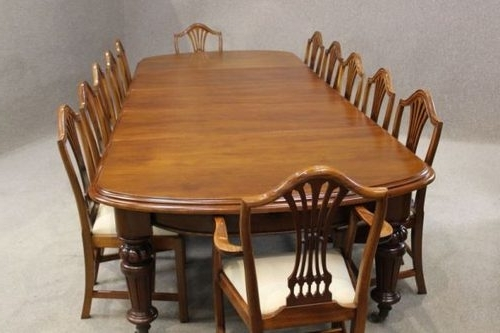 Most Up To Date Victorian Mahogany Extending Dining Table – Antiques Atlas With Regard To Mahogany Extending Dining Tables And Chairs (View 14 of 20)