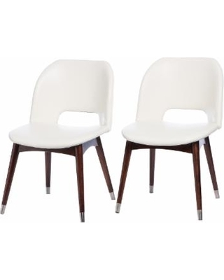 Most Up To Date White Dining Chairs Betty Modern White Leather Dining Chairs Lazonmf In White Leather Dining Chairs (View 11 of 20)