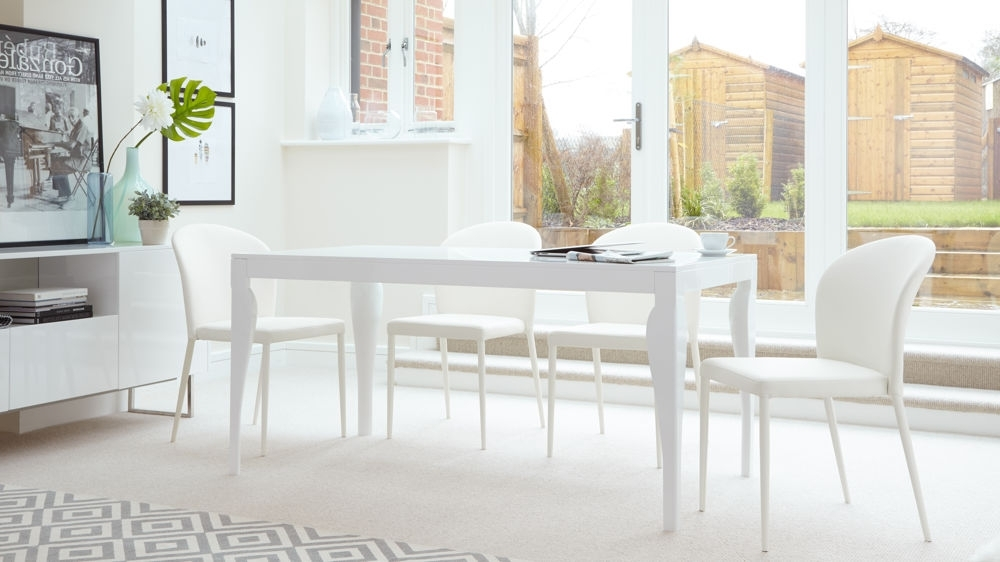 Most Up To Date White Dining Tables 8 Seater In 8 Seat Dining Table And Chairs White – Dining Tables (View 9 of 20)