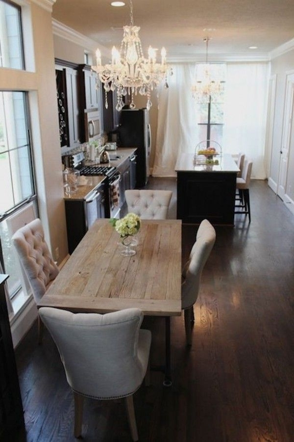 Narrow Dining Tables Pertaining To Favorite 10 Narrow Dining Tables For A Small Dining Room (Gallery 6 of 20)