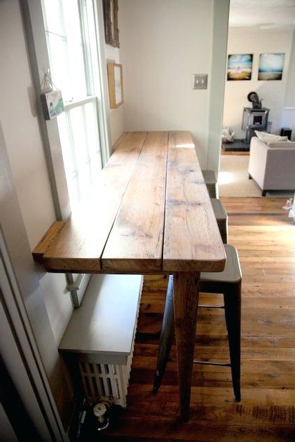 Narrow Dining Tables Within Fashionable Narrow Dining Table Great Breakfast Area With 60cm Wide Design (View 13 of 20)