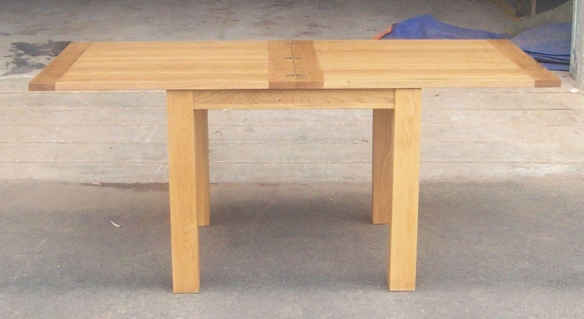 Narrow Folding Console Tables Intended For Flip Top Oak Dining Tables (View 2 of 20)