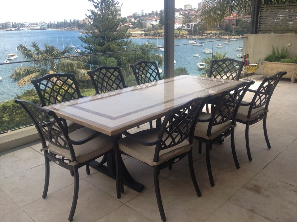 Natural Stone Outdoor Tables For Best And Newest Stone Dining Tables (View 9 of 20)