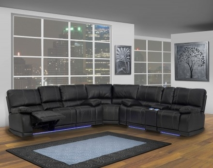 New Classic Electra Mesa Black Power Reclining Sectional – Electra Throughout Most Recent Mesa Foam 2 Piece Sectionals (Gallery 11 of 15)