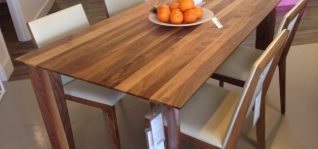 New! Solid Walnut Dining Table! ~ Made In Canada – Parc Modernparc For Newest Walnut Dining Tables (View 10 of 20)