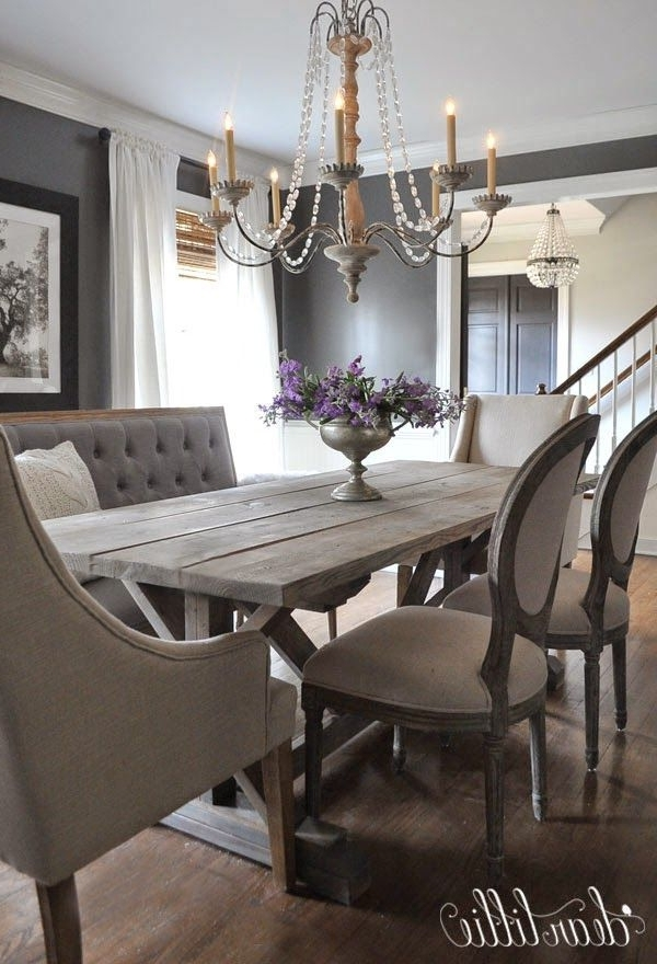 Newest 41 Best Sarah's Interior Design Style & Ideas Images On Pinterest With Regard To Bale Rustic Grey 7 Piece Dining Sets With Pearson White Side Chairs (View 15 of 20)
