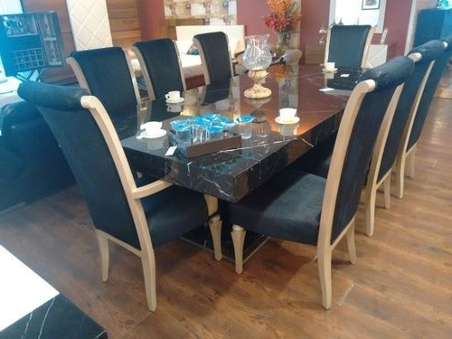 Newest 8 Seater Round Dining Table And Chairs Regarding 8 Seater Dining Table Set, Wooden Dining Set (View 15 of 20)