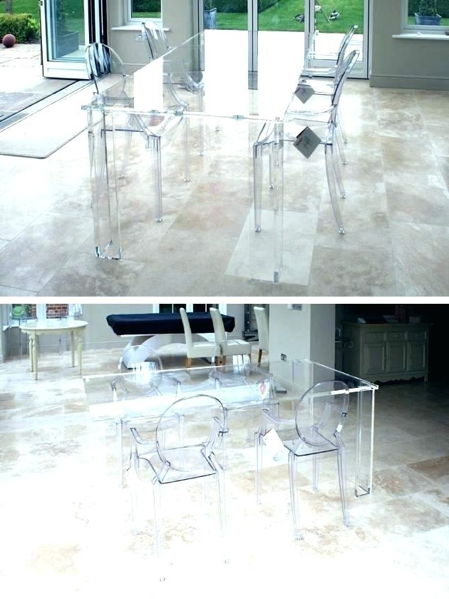 Newest Acrylic Round Dining Tables For Round Dining Table Simplistic Tables Wood Best Home Furniture Lucite (Gallery 17 of 20)