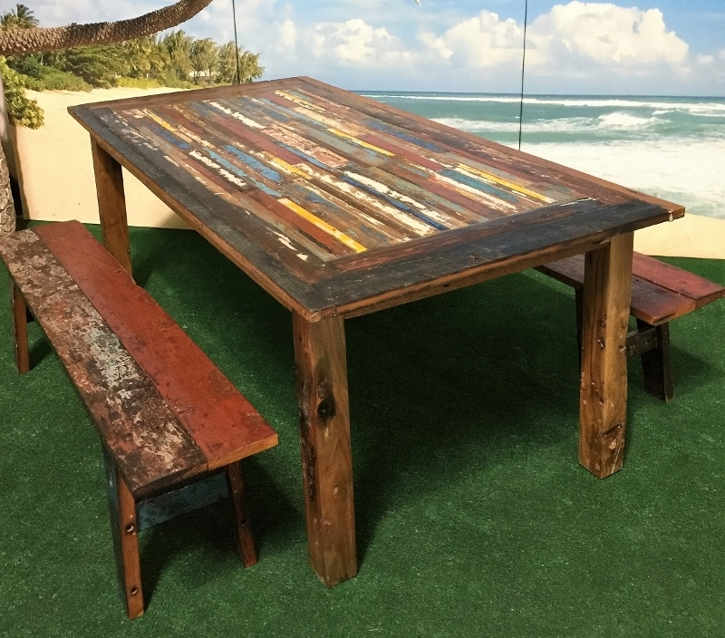 Newest Bali Teak Furniture Portland: Outdoor Teak Occasional Tables Within Bali Dining Tables (Gallery 7 of 20)