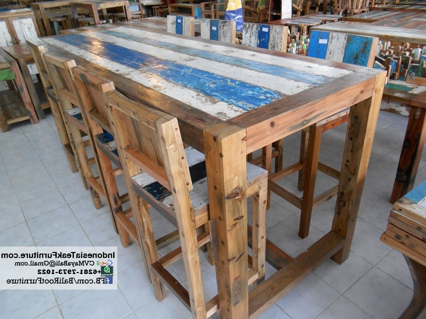 Newest Balinese Dining Tables Intended For Furniture – Bali Crafts (View 15 of 20)