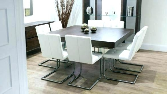 Newest Black Wood Dining Table Dark Round Inspirational Catchy Set The Regarding Dark Wood Square Dining Tables (View 14 of 20)