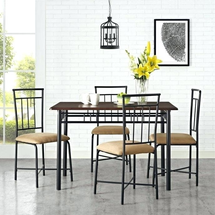 Newest Caden Round Dining Tables Inside Caden Dining Set Round Dining Table Caden 5 Piece Dining Set (View 3 of 20)