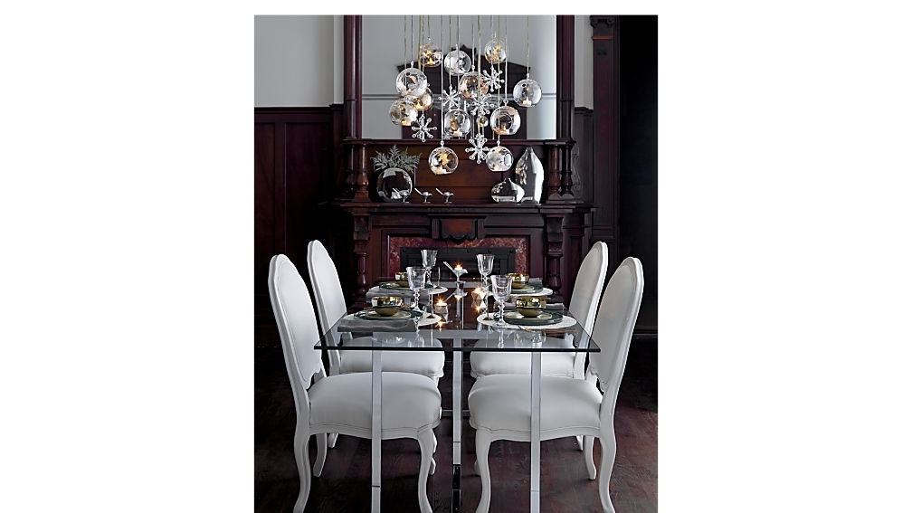 "Newest Chrome Dining Room Sets Inside Silverado 72"" Chrome Dining Table + Reviews (View 15 of 20)"