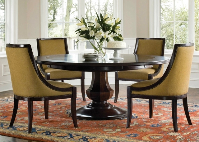 Newest Circular Dining Tables Inside 27 Dining Table Designs For Your Dream Home – S Bricks Blog (Gallery 7 of 20)