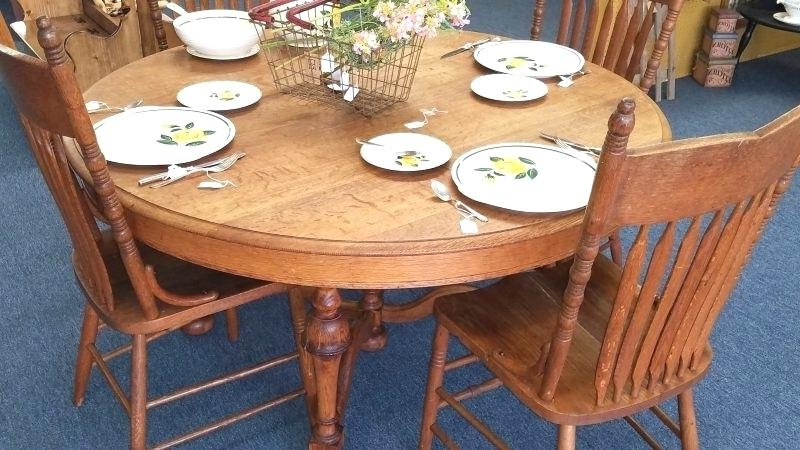 Newest Dining Chairs Ebay In Oak Dinette Table Sets Antique Dining Chairs Ebay Uk Set Incredible (Gallery 20 of 20)