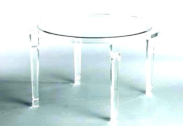 Newest Dining Table Clear Acrylic Cover – Jasonstevens Regarding Round Acrylic Dining Tables (Gallery 19 of 20)