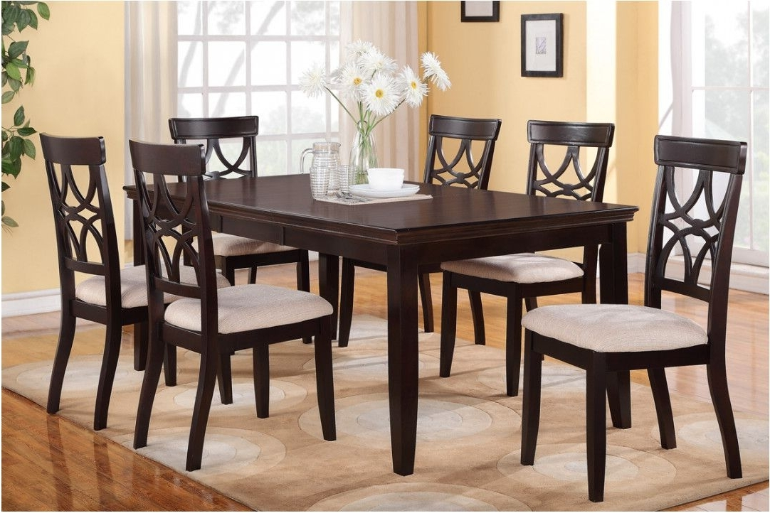 Newest Dining Tables With 6 Chairs With Regard To Beautifull Fancy Dining Table Set 6 Chairs 38 Small Kitchen Ideas (Gallery 5 of 20)