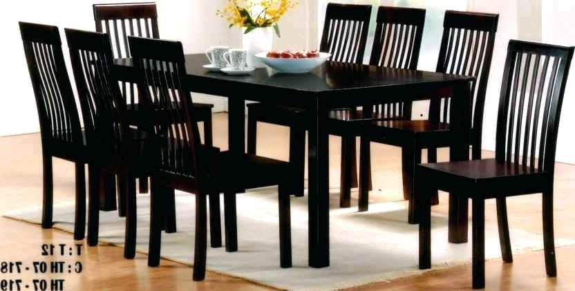 Newest Dining Tables With 8 Seater In Dining Table 8 Seater Dimensions – Adithya Table (Gallery 8 of 20)