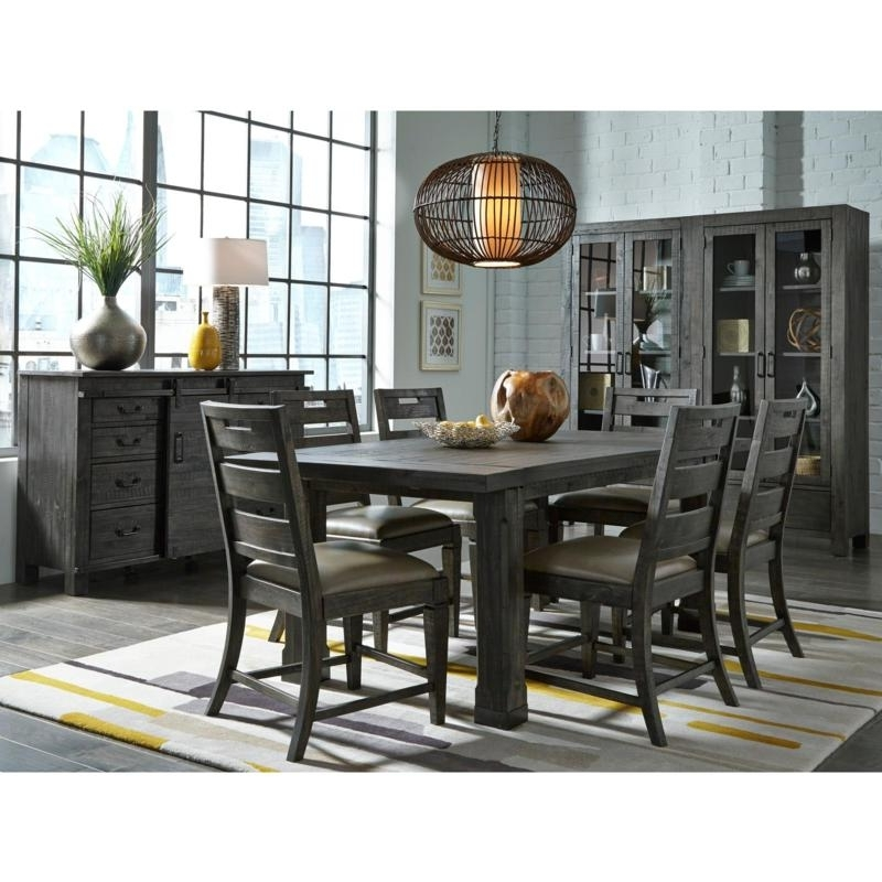 Newest Edmonton Dining Tables In Magnussen Dining Tables Abington D3804 20 Dining Table (Rectangle (View 19 of 20)