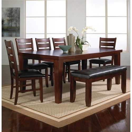 Newest Elegant Dining Table And Bench Set Pythonet Home Furniture On For Small Dining Tables And Bench Sets (View 16 of 20)