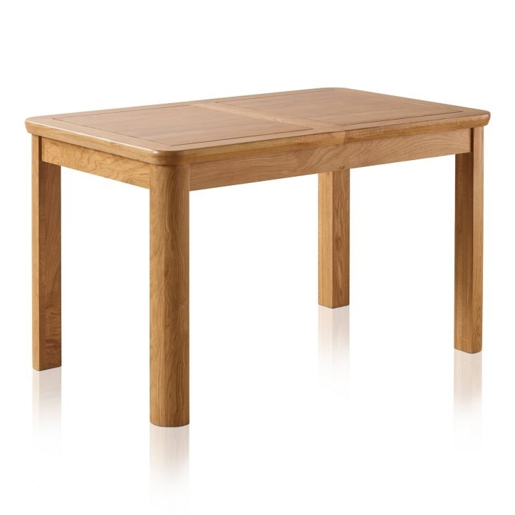 Newest Extending Solid Oak Dining Tables Intended For Wiltshire Natural Solid Oak Extension Dining Table (View 15 of 20)