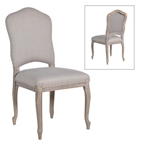 Newest French Grey Dining Chair Pertaining To Grey Dining Chairs (View 13 of 20)