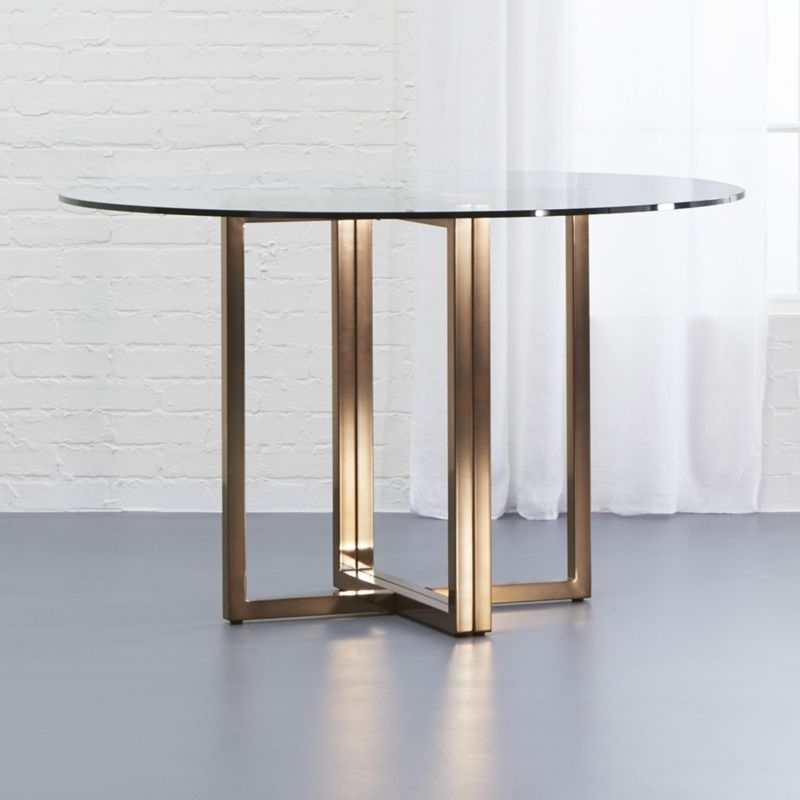 Newest Glass Dining Tables (View 12 of 20)
