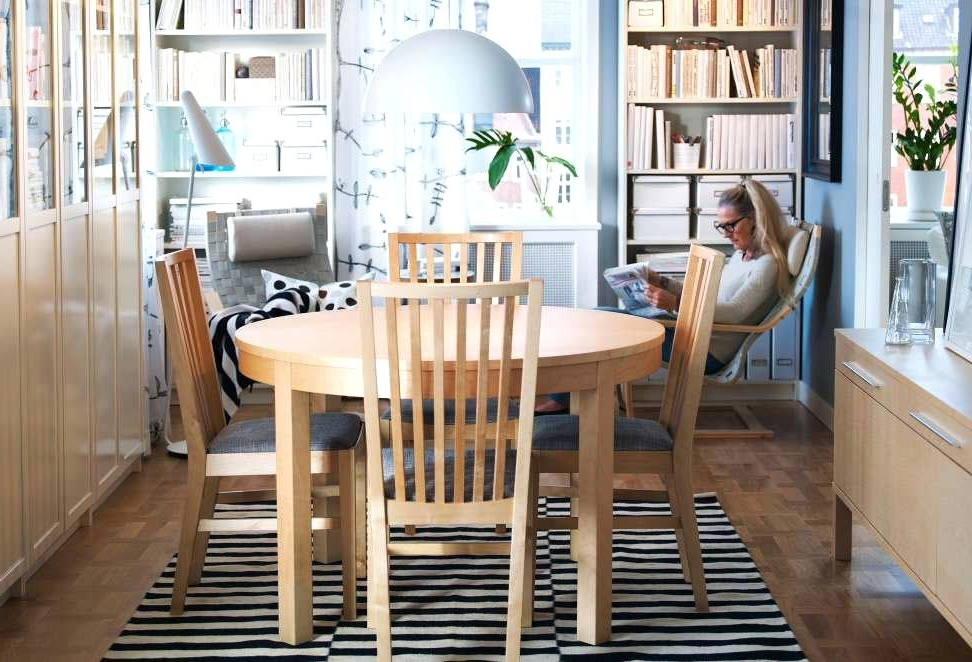 Newest Ikea Round Dining Table Set Dining Room Tables And Chairs A Dining Within Ikea Round Dining Tables Set (Gallery 4 of 20)