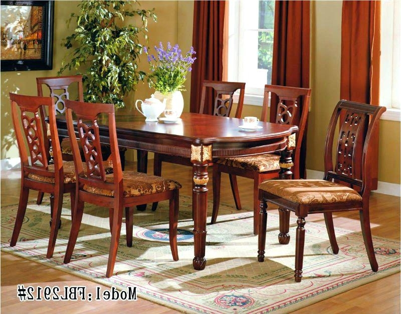 Newest Indian Dining Tables In Indian Dining Table Wood Dining Table Designs Dining Tables (Gallery 14 of 20)