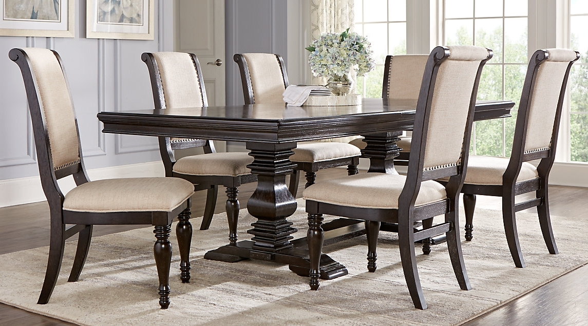 Newest Investing In Marble Dining Room Table And Chair Sets – Blogbeen Regarding Cheap Dining Room Chairs (View 15 of 20)