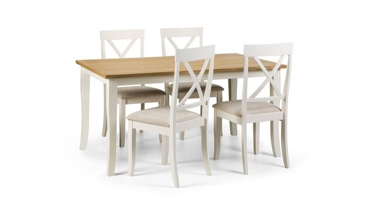 Newest Isabella Rectangular Dining Table & 4 Chairs – Scs Inside Isabella Dining Tables (Gallery 14 of 20)