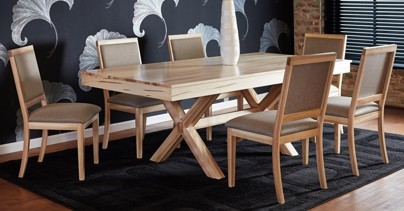 Newest Laurent 5 Piece Round Dining Sets With Wood Chairs With Quality Canadian Wood Furniture: Dining Room (Gallery 10 of 20)