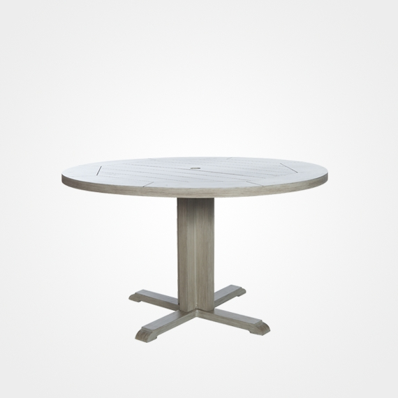 Newest Laurent Round Dining Tables Throughout Ebel Laurent Collection – Available At Brooks & Collier (View 16 of 20)