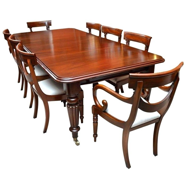 Newest Mahogany Dining Room Table Mahogany Dining Room Furniture For Sale Regarding Mahogany Dining Tables Sets (Gallery 18 of 20)